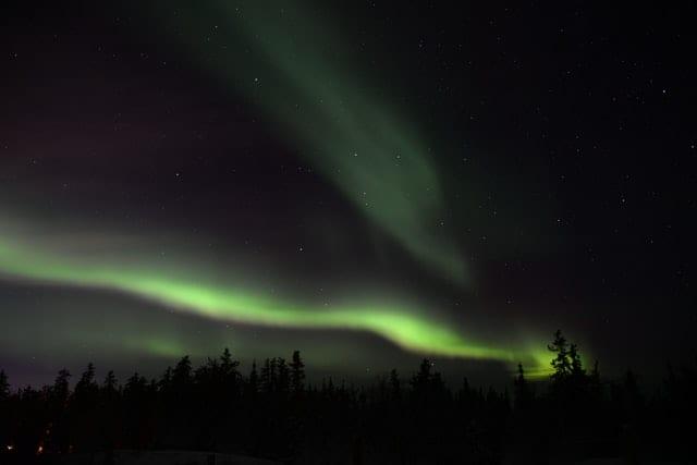 Northern Lights in Algonquin Park Image