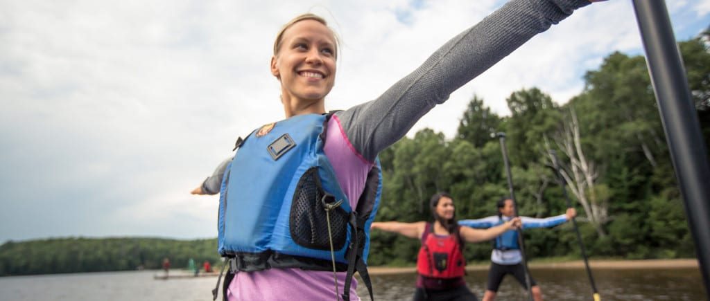 Stand-up paddling & women's retreat ideas